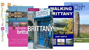 Bookstore: Recommended travel & tourist guide books to Brittany with walking maps, Road maps, Children's books, Asterix, Breton Cuisine and much more